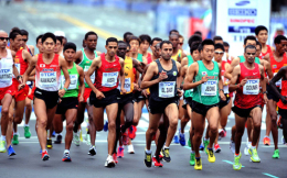 中国一年53场马拉松够么?不及美国零头