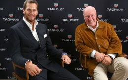 泰格豪雅签约布雷迪做其全球形象大使