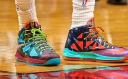 NBA球员球鞋状况一览 耐克霸主地位无人能动摇