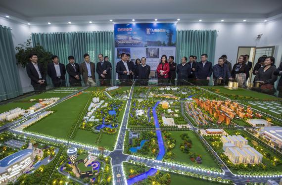 北京槐房建设全生态国际足球小镇 将成中国体育风向标