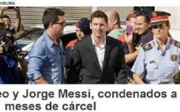 法院宣布梅西被判有期徒刑21个月 别慌!不入狱