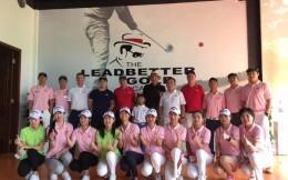 卡拉威携手利百特先生关注中国青少年高尔夫  共庆北京学院开幕