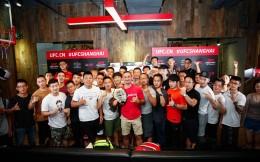 UFC首次安排冠军拳手与粉丝亲密接触 Max Holloway及李景亮见面会圆满结束