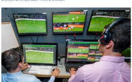 西甲官方:2018-19赛季联赛将引进视频助理裁判