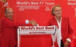 法拉利F1车队财政失血 主赞助商桑坦德银行转投欧冠联赛