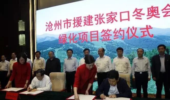 河北沧州市将出资超1亿元援建崇礼冬奥绿化项目 占地达6090亩