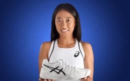 张帅代言亚瑟士 成品牌历史首位中国女子网球运动员