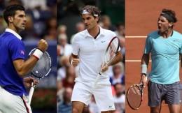 """网球""""三巨头""""生涯总奖金均突破一亿美元,费德勒第一"""