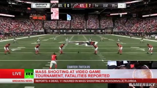 美国电竞比赛枪击案已致三死 嫌犯疑为参赛失利选手