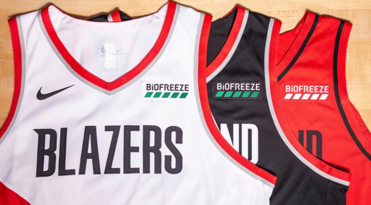 开拓者达成球衣胸前广告协议 NBA仅剩6支球队尚未找到赞助商