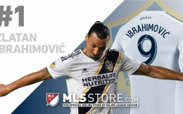 MLS美国大联盟球衣销量前十:伊布居首 鲁尼、比利亚上榜