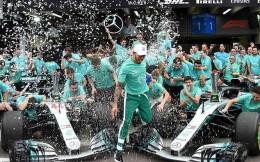梅奔车队提前卫冕F1总冠军 900员工共享900万镑奖金