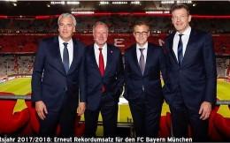 拜仁上一财年总收入超6.5亿欧再创新高,净利润2950万