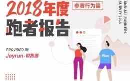 2018年度跑者报告2:七成跑者外埠跑步至少旅游1天