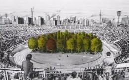 开创历史!奥地利著名体育场将在场内种植299棵树