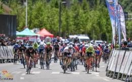 环太原国际公路自行车赛 美国小将再夺赛段冠军