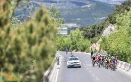 太行峡谷陡坡路段 产生环太原全新赛段前三名