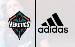 阿迪达斯与西班牙电竞俱乐部Heretics达成合作