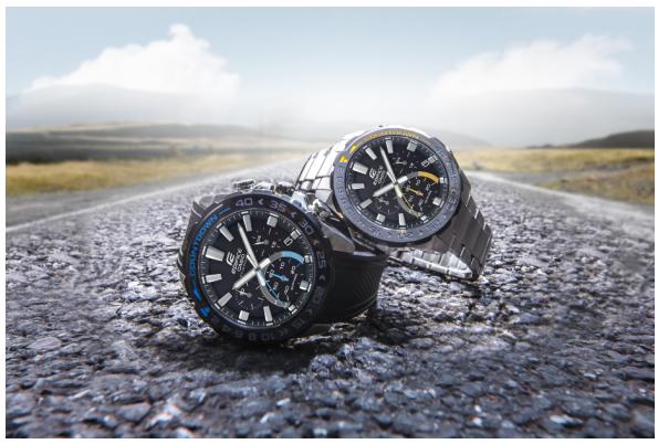 全新旋转刻盘活力酷现腕间 卡西欧EDIFICE EFS-S550系列焕新腕表界