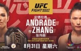 UFC深圳站完整参赛名单曝光:张伟丽李景亮领衔  宋克南武亚楠出战