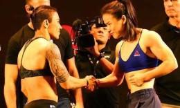 41秒TKO! 张伟丽成为中国首位UFC冠军