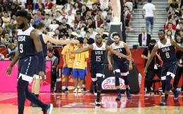 美国男篮88-67击败捷克 连续18届比赛收获开门红