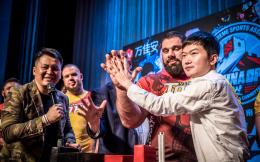 中国斗腕公开赛签约新闻发布会进行 万佳安智能科技冠名赛事