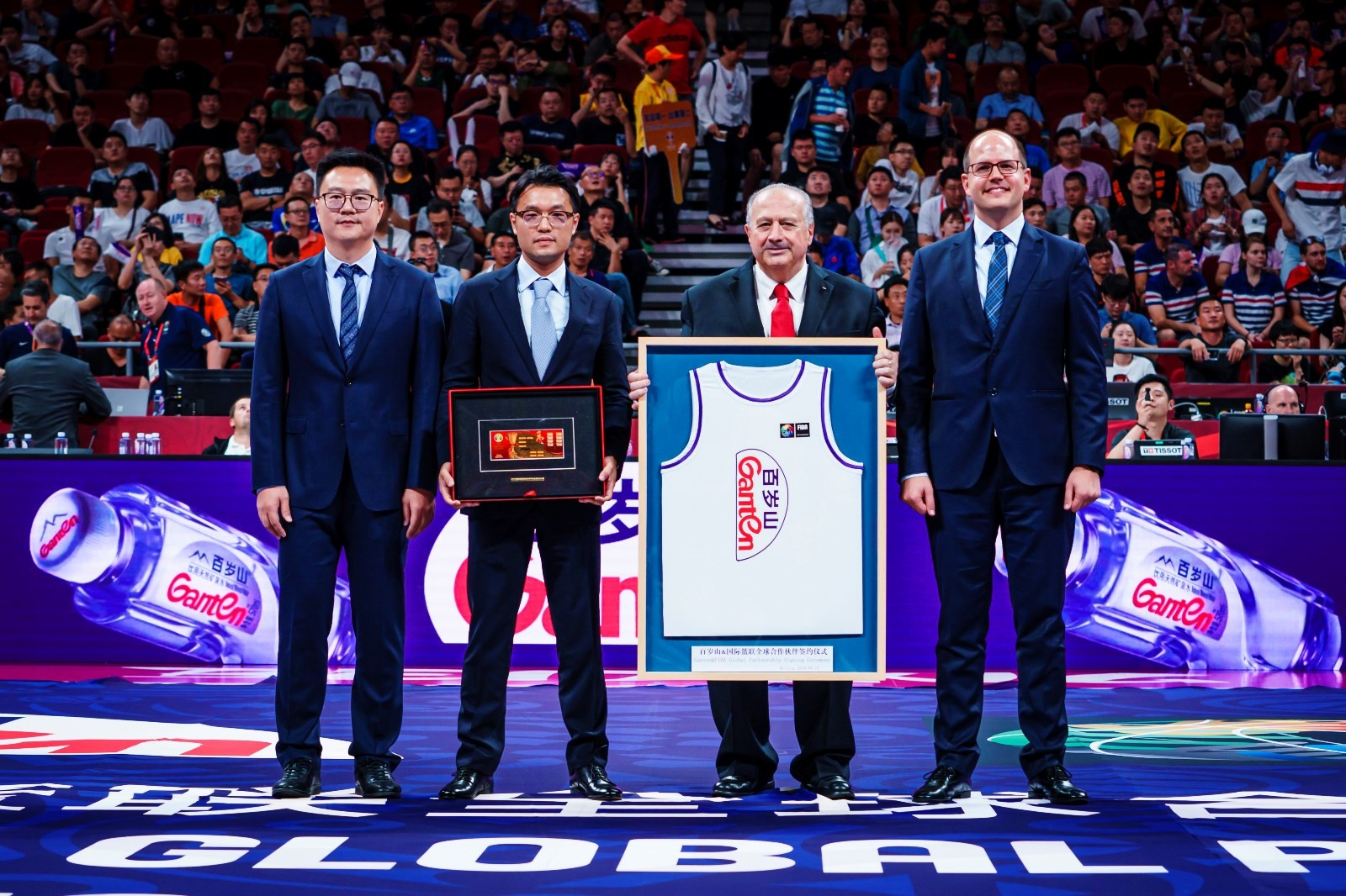 续约4年!百岁山继续出任国际篮联全球合作伙伴
