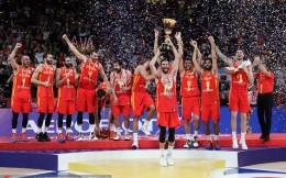 西班牙20分狂屠阿根廷夺得世界杯冠军 卢比奥加冕MVP