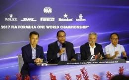 继续冠名!新加坡航空与F1新加坡大奖赛续约至2021年