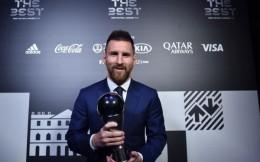 梅西力压C罗范迪克获世界足球先生 6次封王成历史第一人