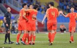 U23亚洲杯分组:中国国奥队遭遇死亡之组