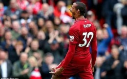 利物浦后卫马蒂普当选9月英超最佳球员