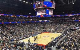 NBA中国赛上海站现场如期举行 现场座无虚席
