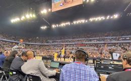 NBA中国赛深圳站正常举行:无赞助商logo 球馆依然爆满