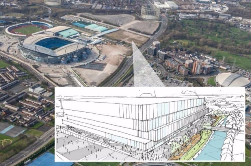 曼城计划投资3亿英镑新建体育馆 用于举办音乐会、NBA和UFC赛事