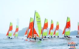一场业余赛引来两位副部级领导的背后:九江庐山西海借帆船玩转体育+旅游