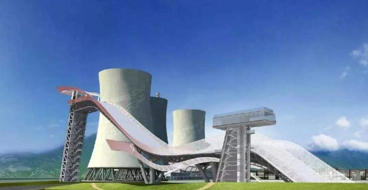 首钢滑雪大跳台建设完成 北京冬奥会4块金牌在此产生