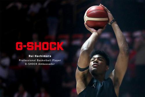 """卡西欧与""""TOUGH""""职业篮球运动员八村垒 签署G-SHOCK全球合作协议"""