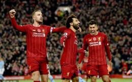 利物浦3-1力克曼城8分领跑英超积分榜