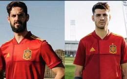 阿迪达斯发布西班牙国家队2020欧洲杯战袍 双方握手言和续约至2030年