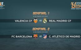 2020西班牙超级杯落户沙特阿拉伯 巴萨瓦伦与马德里双雄将捉对厮杀