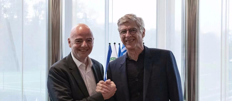 官宣!温格出任FIFA全球足球发展主管