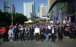 2019国际垂马总决赛收官,700名梯客登顶广州周大福金融中心