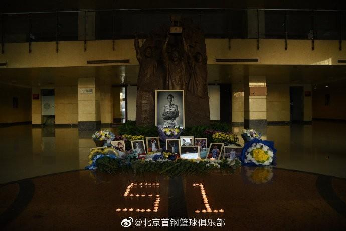 周日首钢主场将举行吉喆纪念仪式 官方透露将退役51号球衣