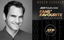 纳达尔获?2019ATP年终第一 费德勒连续17年获ATP最受欢迎奖