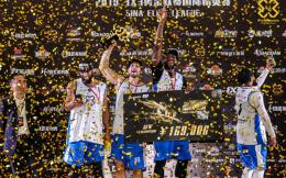 3X3黄金联赛国际精英赛羊城落幕,纽约力克卫冕冠军夺冠