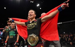 张伟丽获评2019雅虎年度最佳MMA女拳手