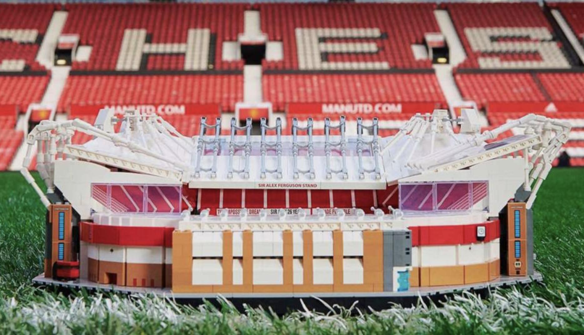曼联与乐高达成合作,发布老特拉福德套装!