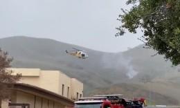 科比坠机目击者:当时雾很大,那架飞机飞得很低很挣扎,突然听到隆隆声看到火球